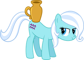 Aquarius Pony Vector by UlyssesGrant
