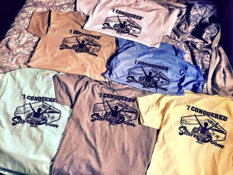 Stairs of Doom T-Shirts by romeogfx