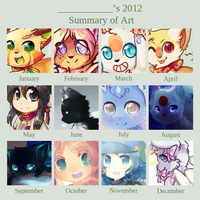 Art Summary 2012 by JAYWlNG