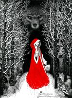 Red Riding Hood by adalheidis