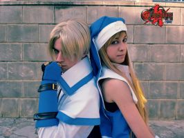 Ky Kiske y Bridget Faces by CheKo9
