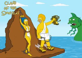 clash of the simpsons by chagadiel