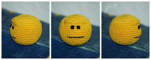 The Crocheted: Blank Stare by janey-in-a-bottle