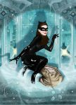Catwoman (Adam Hughes Homage) by amatuerpornstar69
