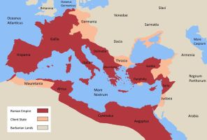 The Roman Empire at the time of Christ's Birth by SteamPoweredWolf