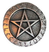 Rune Pentacle by dollieflesh-stock