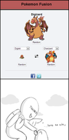 Pokemon Fusion: Digizard. by ephemeralsound