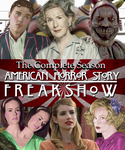 American Horror Story Freak Show DVD Cover by shadow0knight