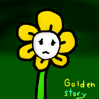 Golden Story (undertale MY OC comic) by Pinkapop