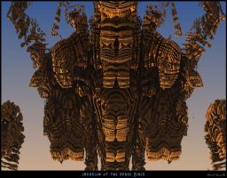 Invasion of the Space Tikis by PaulBaack