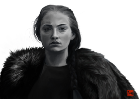Queen in the North by chromageist