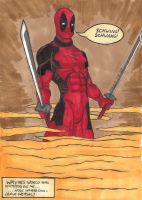 Deadpool schwing by AdemusHaruhara