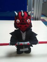 Darth Maul Plushie by Funk-Golem