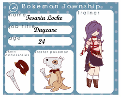 PokeTownship: Trainer Sheet by Siane-Ritari