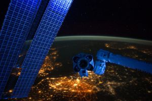 Western Europe at Night by jswis
