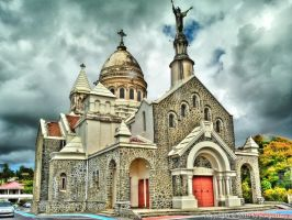 Church in Guadeloupe by pingallery