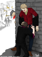 NSFW- Johnlock exchange by ExtremlySelfishChild