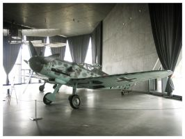 Messerschmitt Bf-109 G-6 by WormWoodTheStar