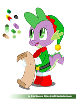 Spike Xmas by jcosneverexisted