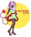 Monster Girl Mascot Contest by Bombergranatepop