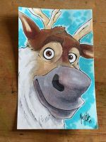 Sven from Frozen by Midnight27studios