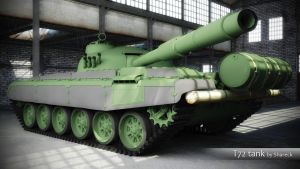 T72 tank. WIP by shareck