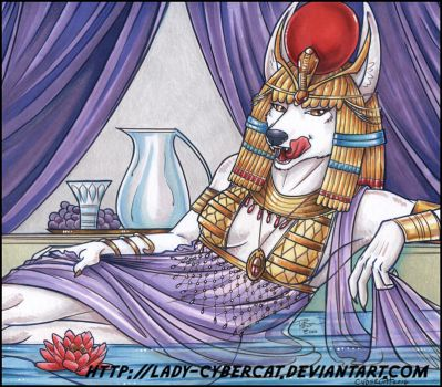 Egyptian Jackal Auction Starting Bid $50.00 by lady-cybercat