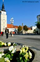 Square in Trnava by katarinaCakoi