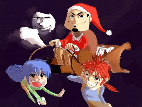 merry xmas 2012 by Gamart89