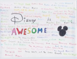 Disney is Awesome by werecass
