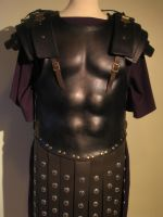 Roman Anatomic Leather Armor by Flacusetarhadel