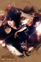 SNSD - Sooyoung RDR iPhone, iPod Touch Wallpaper by Cre4t1v31