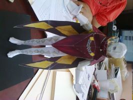 Lord Ghirahim Papercraft by kathypanecillo
