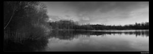 Lake in silence by marschall196