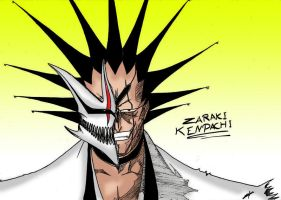Hollow zaraki kenpachi by sounashixdesei