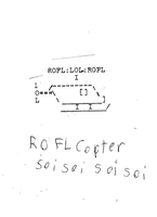 ROFLCOPTER ASCII by WiiMan999