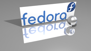 Fedora Logo With Glass Sphere by caiuschance
