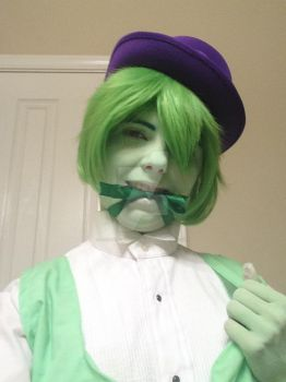 And now for a leprechaun sext by Ask-Tei-the-Yandere