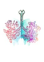 Lungs-freshenss by MargoIllustration