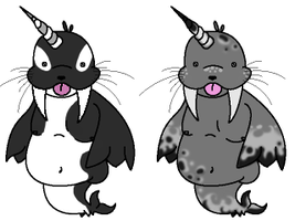 Flubber Face Adopts CLOSED- by Pr0crastinator