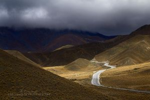 Lindis Pass, Storm Light by GregArps