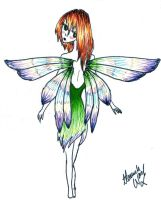 rainbow wing fairy by ShadyHathor
