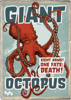 Syfy MM Giant Octopus by Randoman92