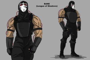 Bane sans le Ninja Mask by darknight7