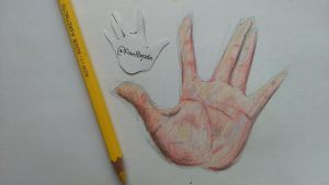 Hand by Franklin-Weather