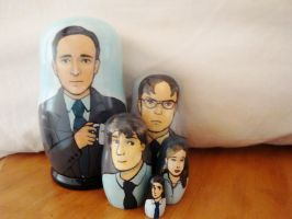 The Office Nesting Dolls by bachel60