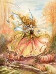 Dance of Autumn by JannaFairyArt