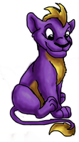 Spyro Lion by KoudoawaiaVortex