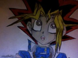Yugi Moto Coloured by CanadianGal11