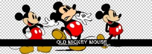 Old mickey mouse png. by PoisonJoonas